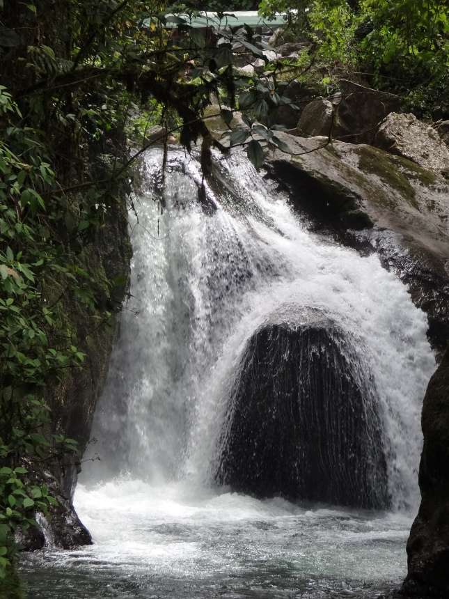 Nambillo Waterfall, Mindo